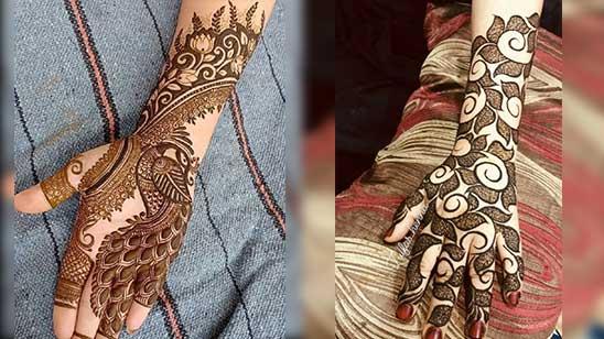 Simple Arabic Mehndi Designs Step by Step