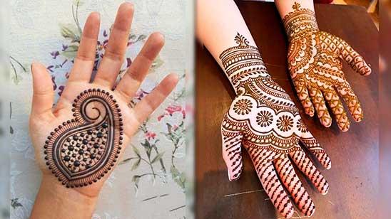 Simple Arebian Mehndi Design