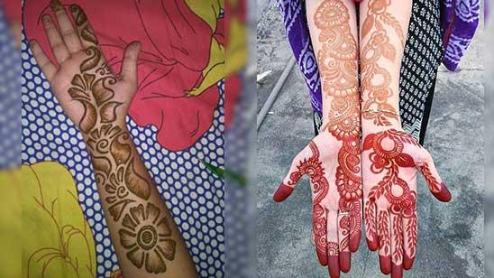 Simple Arm Mehndi Designs