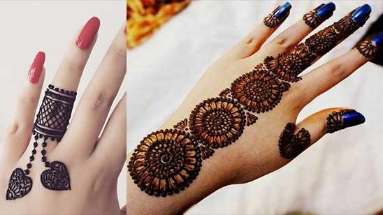 Simple Bangle Mehendi Design