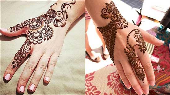 Simple Bangle Mehndi Design