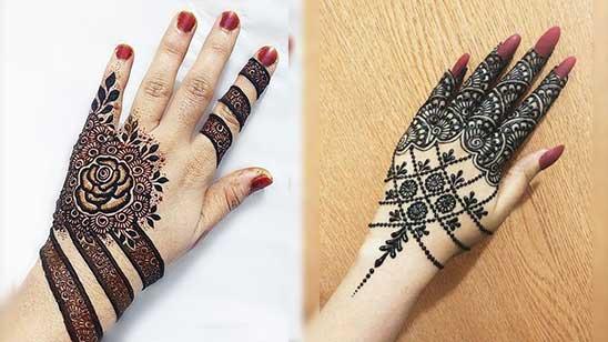 Simple Bangle Mehndi Designs