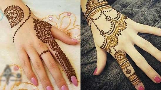 Simple Bracelet Mehendi Design