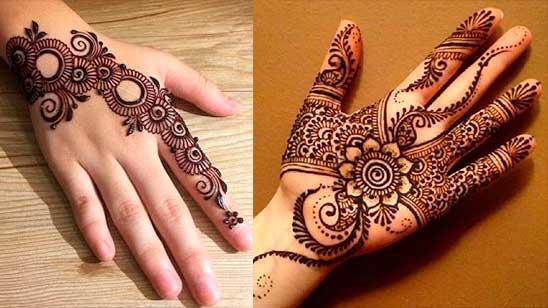 Simple Flower Mehendi Design