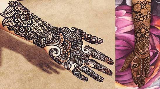 Simple Front Mehndi Design