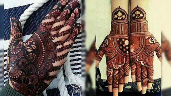 Simple Hatheli Mehndi Design