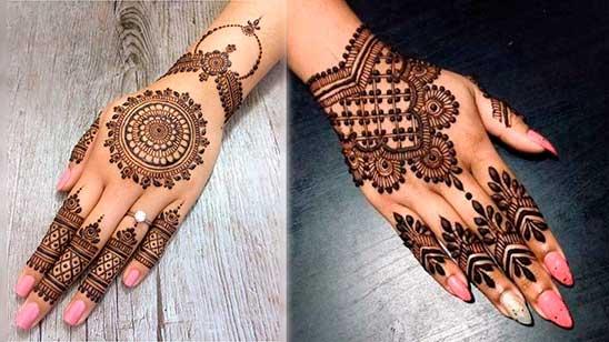 Simple Jewellery Mehendi Design