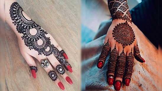 Simple Jewellery Mehndi Design