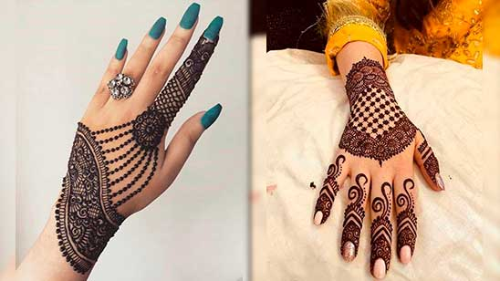 Simple Khafif Mehendi Design