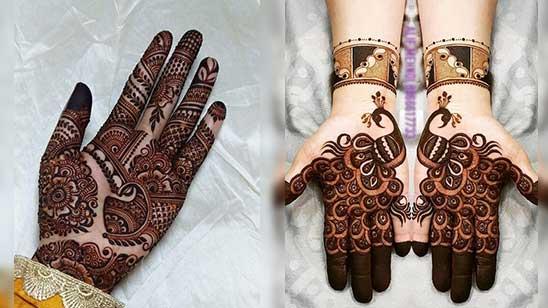 Simple Mahendi Design of Hatheli