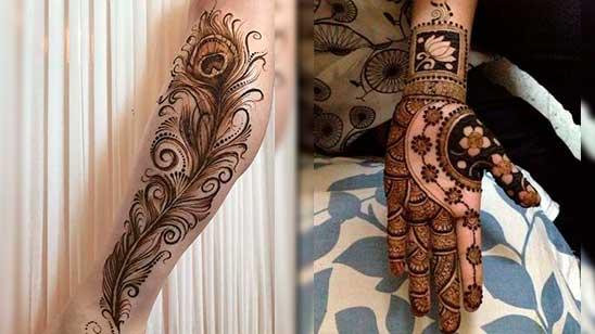 Simple Stylish Mehendi Design