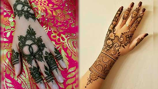 Simple Stylish Mehndi Design