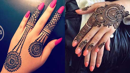 Simple and Easy Bangle Mehendi Design