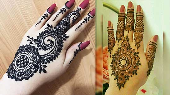 Simple and Easy Bangle Mehndi Design