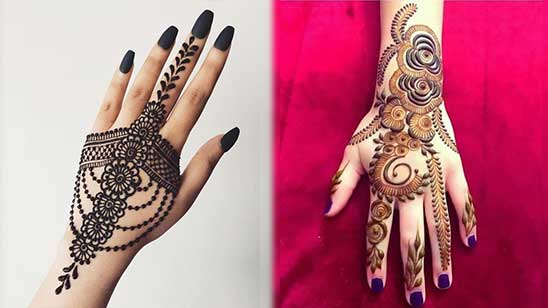 Simple and Easy Bangle Mehndi Designs