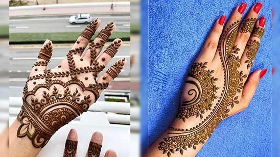 Simple and Easy Bridal Mehendi Design
