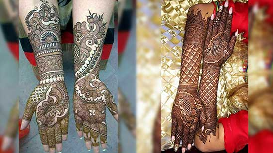Simple and Easy Bridal Mehndi Design