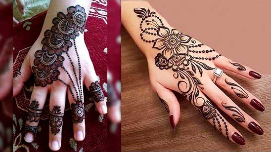 Simple and Easy Flower Mehndi Design