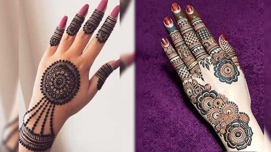 Simple and Easy Jewellery Mehndi Design