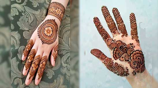 Simple and Easy Khafif Mehndi Design