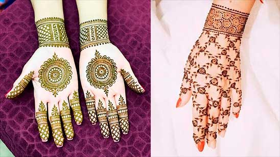 Simple and Easy Mehndi Design of Rose
