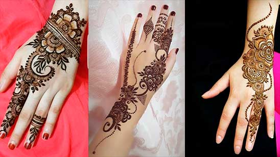 Simple and Easy Modern Mehndi Design