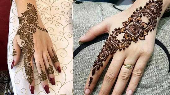 Simple and Easy Mylanchi Mehndi Design