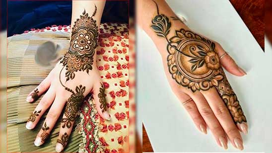 Simple and Easy Rose Mehndi Design