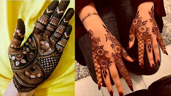 Simple and Easy Stylish Mehndi Design