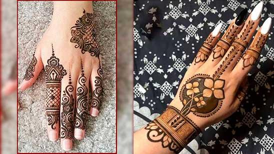 Simple and Stylish Mehndi Design