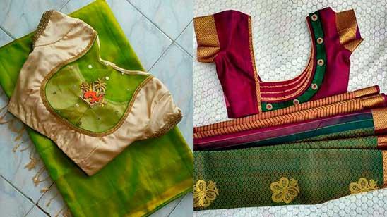 Back Design Of Paithani Blouse