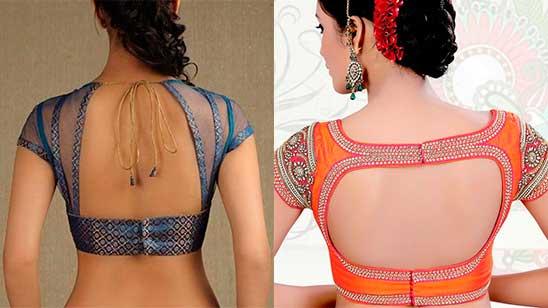 Back Hook Blouse Designs for Brides