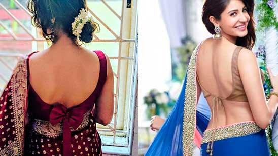 Backless Blouse Back Neck Design
