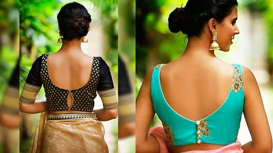 Backless Blouse with Knot