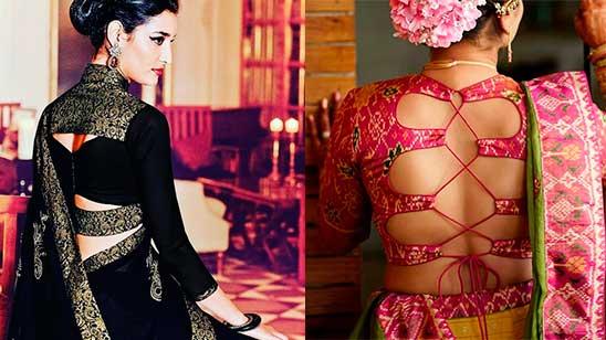 Blouse Design Back Side Latest