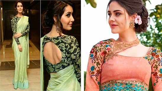 Saree Blouse Back Designs