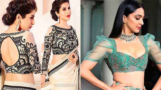 Saree Blouse Designs Front and Back Wedding