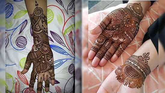 Arabian Mehendi Design New