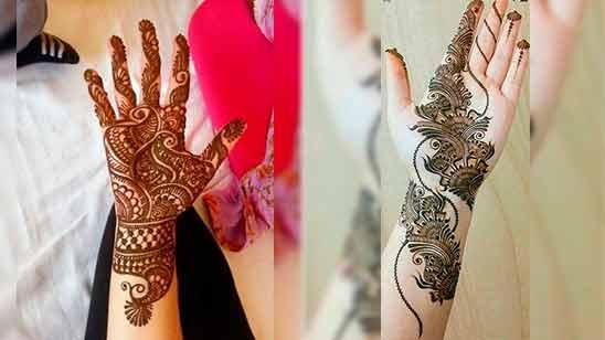 Arabian Mehndi Design Simple And Easy