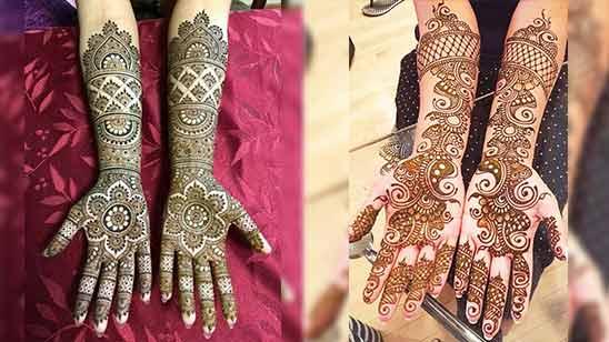 Arabic Bridal Mehndi Design for Full Hand 2020