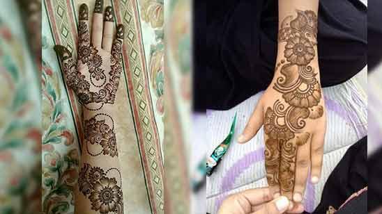 Arabic Mehandi Design Latest Image