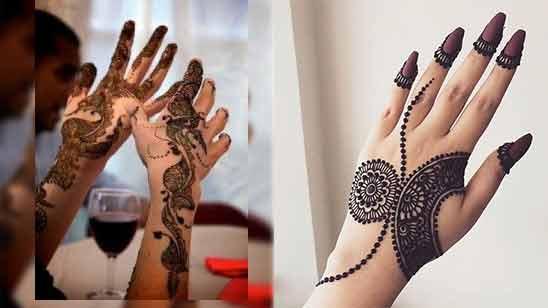 Arabic Mehendi Design Back Hand
