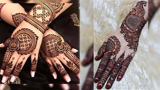Arabic Mehendi Design Hand Image