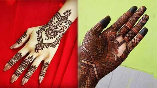 Arabic Mehendi Design Left Hand