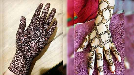 Arabic Mehndi Design Hand Image