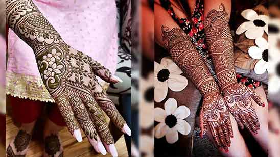 Arabic Mehndi Full Hand