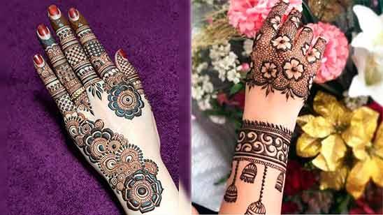 Arabic New Mehandi Design