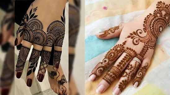 Arabic New Mehendi Design