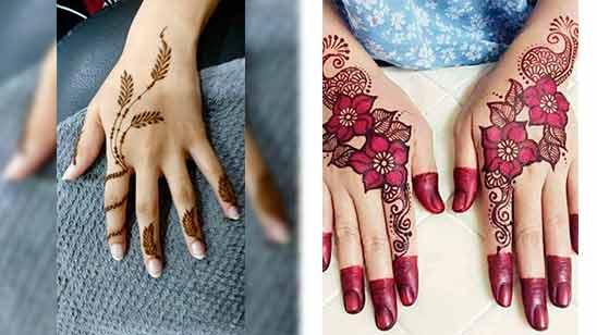 Arabic Simple Mehandi Design