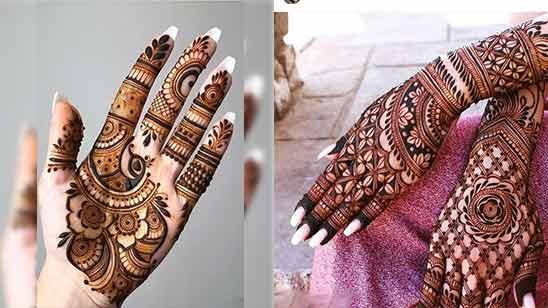 Arabic Style Mehandi Design Image